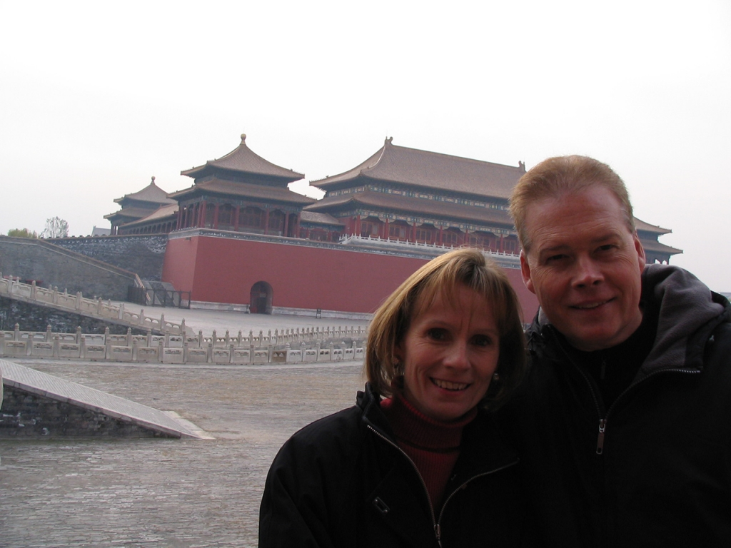 Gary & Connie in Bejing