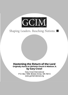 Hastening the Return of the Lord